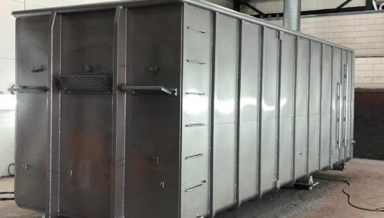 Container Stralen Spuiten Schooperen