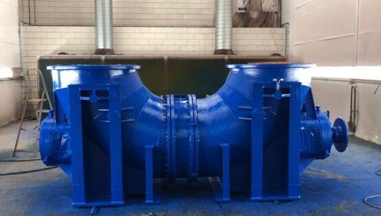 Pomp 5 ton (4) Stralen Spuiten Schooperen